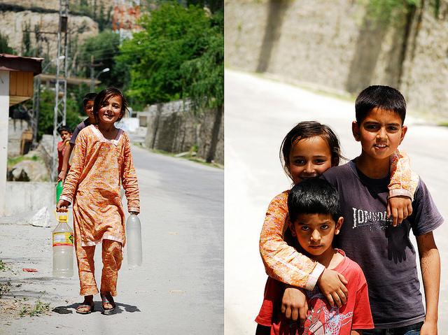 Dzieci Dolina Hunza