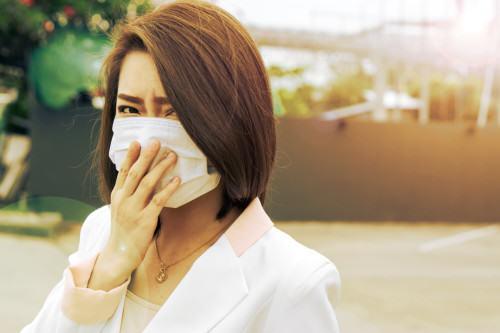 smog toksyny maska