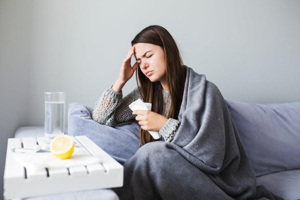 kobieta choroba ból